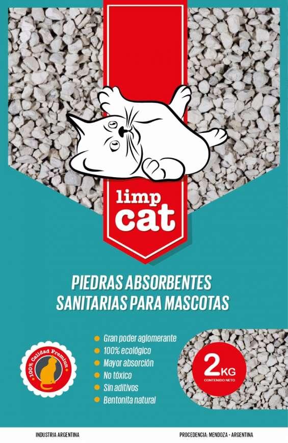 Piedritas sanitarias cama de gatos