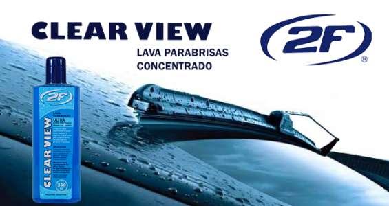 Cosmética automotor 2f clear view - lava parabrisas concentrado