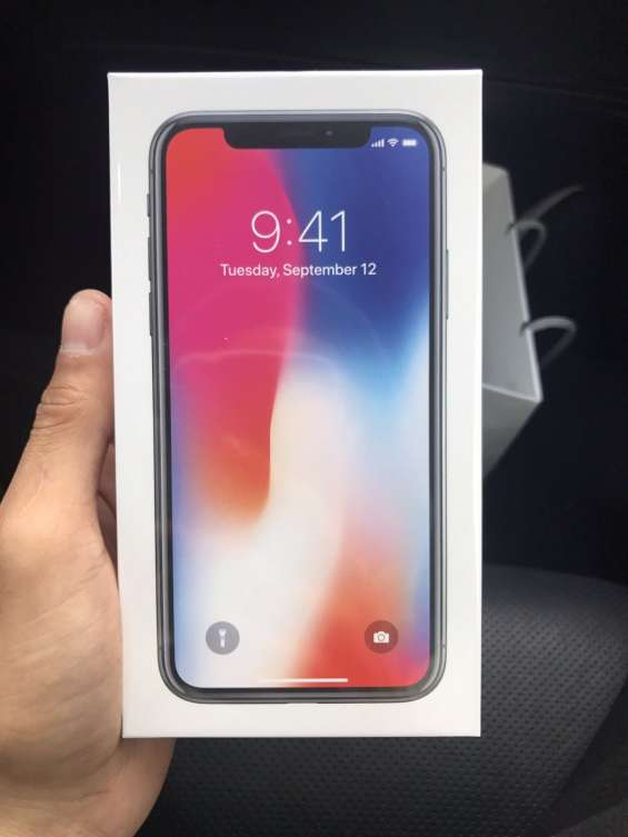 Nuevo apple iphone x 256gb whatsapp:+1(320)2879269