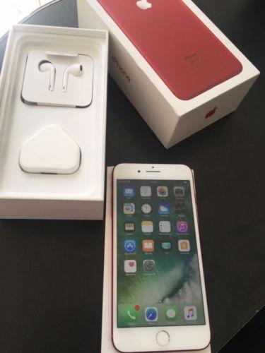 Iphone 7 más color rojo de 256gb