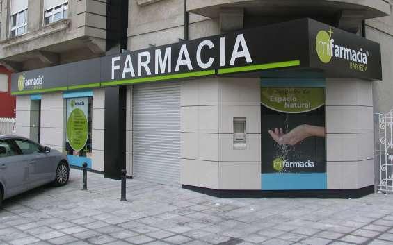 Modelo de letreros para farmacias