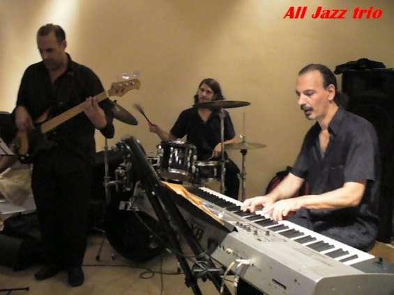 Jazz trio shows fiestas recepciones instrumental