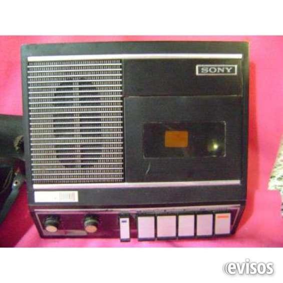 Antiguo grabador y pasacassette sony tc 87