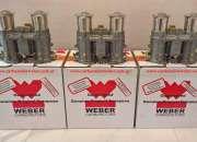 Carburador Weber IDA 48 español original con trompetas