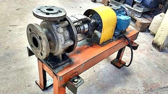 Nro. de stock: 3726   bomba centrifuga acero al carbono