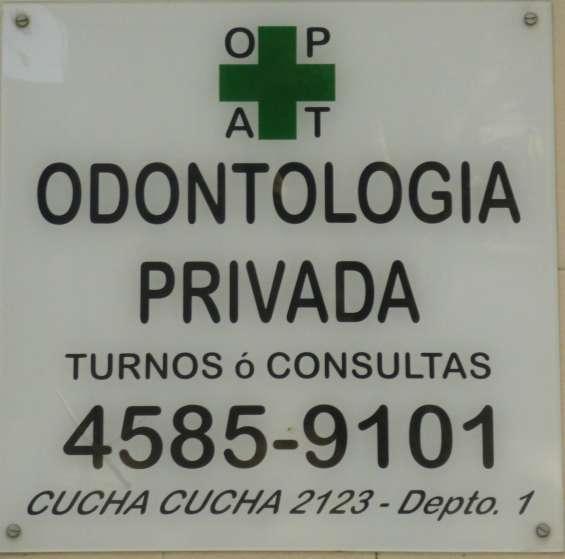 Odontologia dentistas privados de la uba en paternal