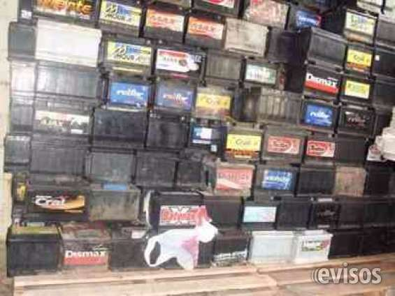 Compro baterias viejas rotas usadas metales hierros