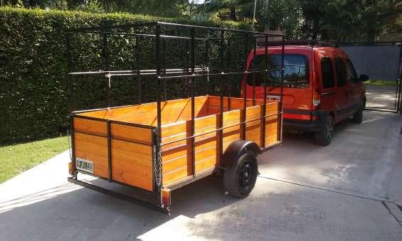 Trailer tipo batan hasta 800 kgs de carga!