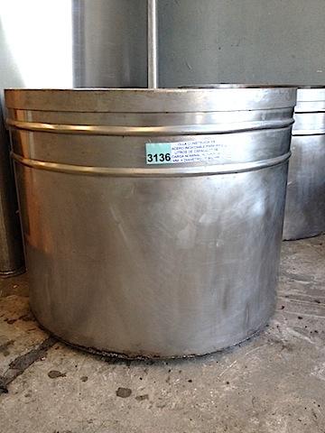 Tanque acero inoxidable 450 litros
