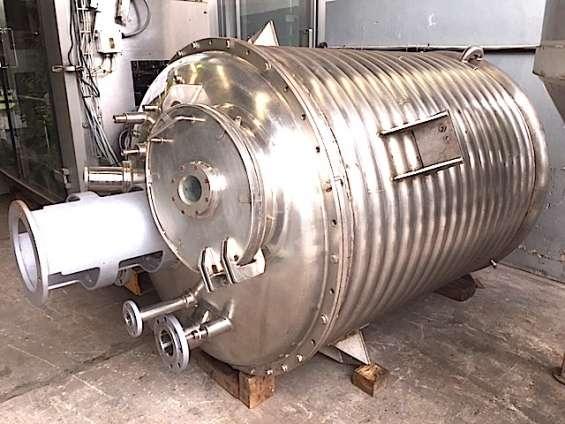 reactor acero inoxidable 2.200 litros