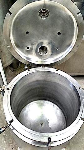 reactor acero inoxidable 100 litros