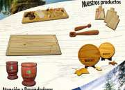 Tablas para picadas de pino taeda tratadas