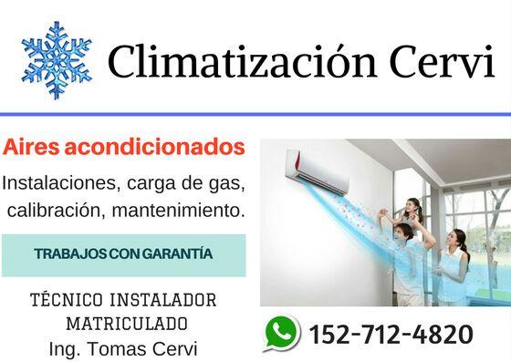 Instalacion aire acondicionado slit climatizacion cervi