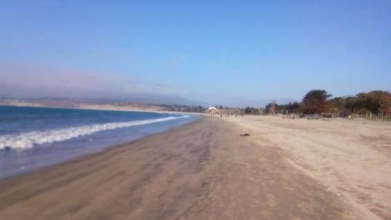 Paradisiaca playa de pichidangui