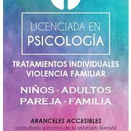 Licenciada en psicologia