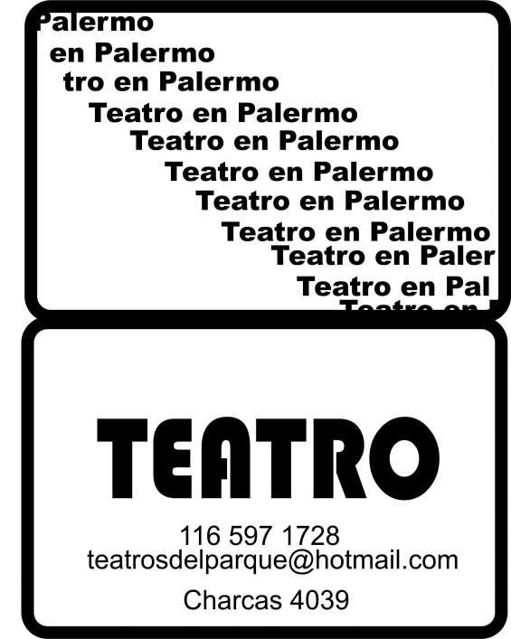 Clases de teatro en palermo y villa del parque