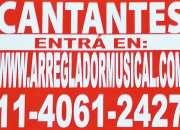 CANTANTES DE ZONA OESTE !!!
