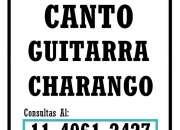 CLASES DE CANTO Y GUITARRA EN ZONA OESTE