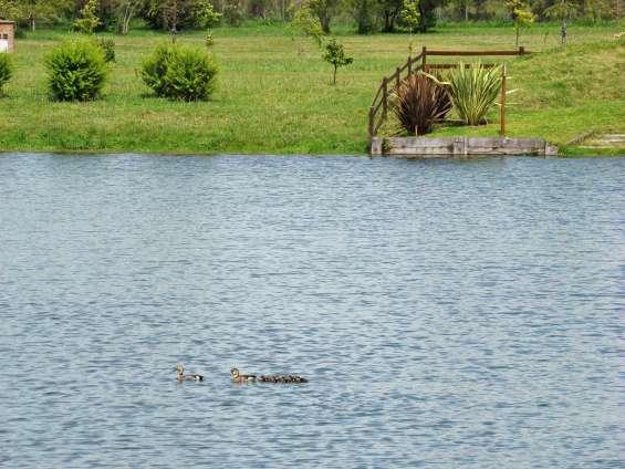 Lote con vista a la laguna