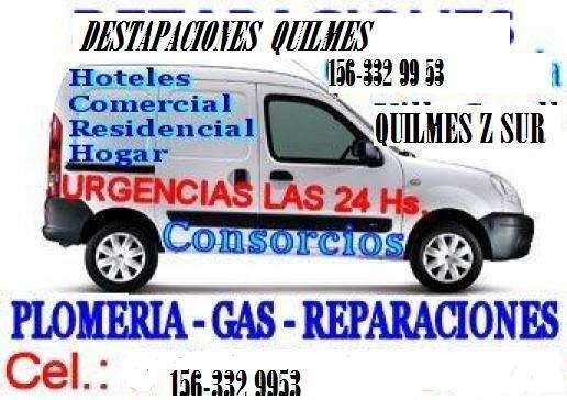 Destapaciones quilmes gasista 1563329953 plomero gasista
