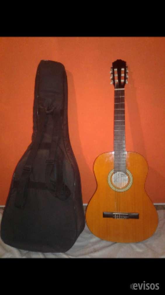 Guitarra criolla con funda