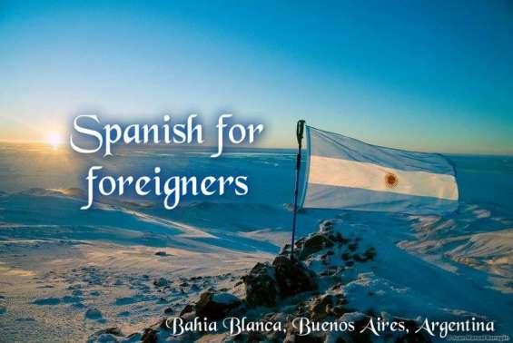 Español para extranjeros en bahía blanca