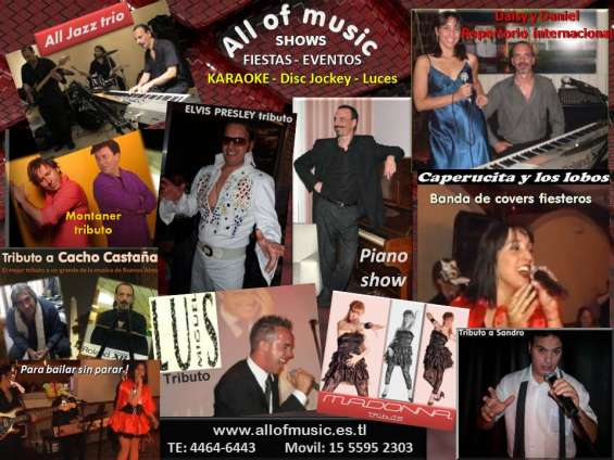 Shows musicales para fiestas y eventos