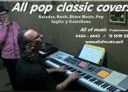 All pop classic covers - Duo cantante y tecladista - Fiestas