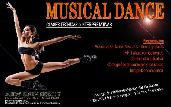 Coreografías de musical dance (+17)