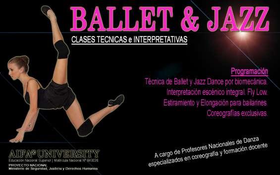 Jazz y ballet con verónica maturán en aifa