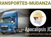 Trasportes mudanzas fletes 24hs. whatsapp 1166760…