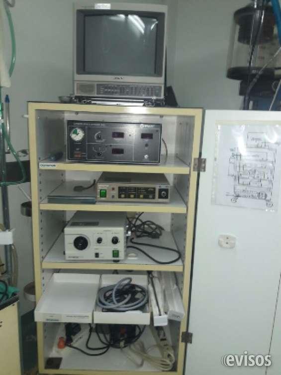 Torre de laparoscopia completa