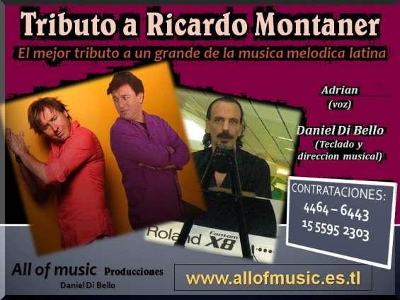 Montaner tributo show fiestas