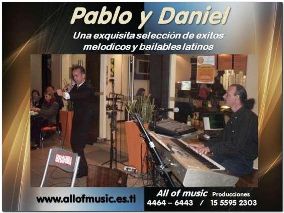 Cantante show latino melodico y bailable
