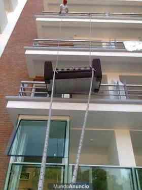 Ascensos y descensos de muebles x balcones