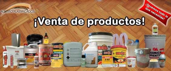 Productos para proteger la madera, laca, barnices y mucho más