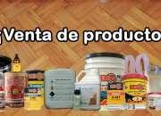 Productos para proteger la madera, laca, barnices…
