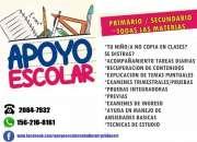 APOYO ESCOLAR NIVEL PRIMARIO Y SECUNDARIO CLASES PARTICULARES ZONA VILLA BALLESTER