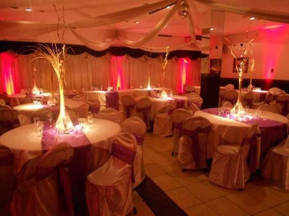 Empresariales fiestas de 15 años casamientos salones de 15 flores capital federal