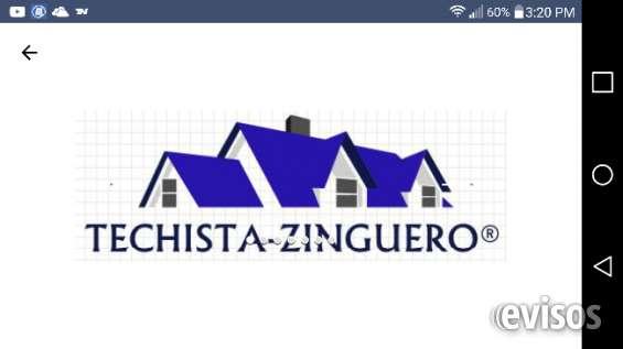 Techista y zinguero repara filtraciones tel: 15-4090.9900. limpieza reparacion canaletas