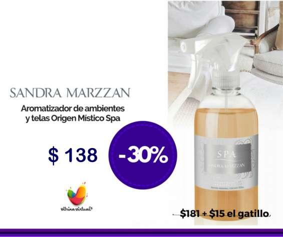 Sandra marzzan, aromas para telas y abientes