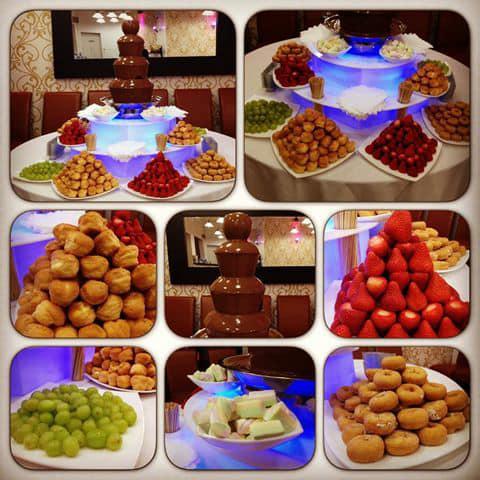 Cascadas de chocolate para eventos rosario (mesa dulce)
