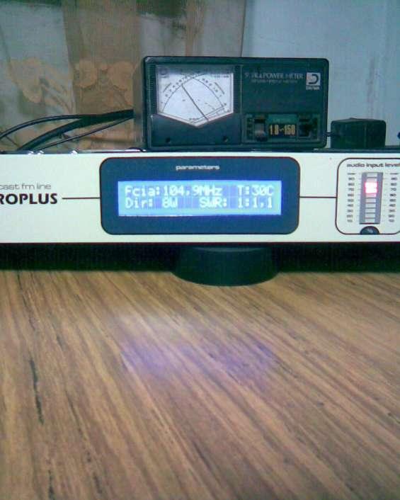 Medición roe y potencia radios fm