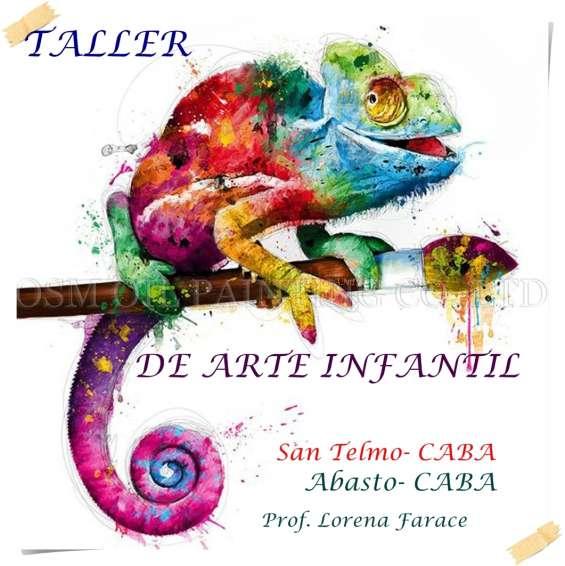 Taller de arte para niños/as
