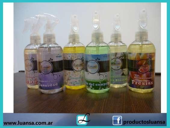 Perfumes textiles de 250 ml con gatillo por 10 unidades