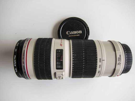 Canon ef 70-200 f/4 l is usm slr made in japan! impecable!