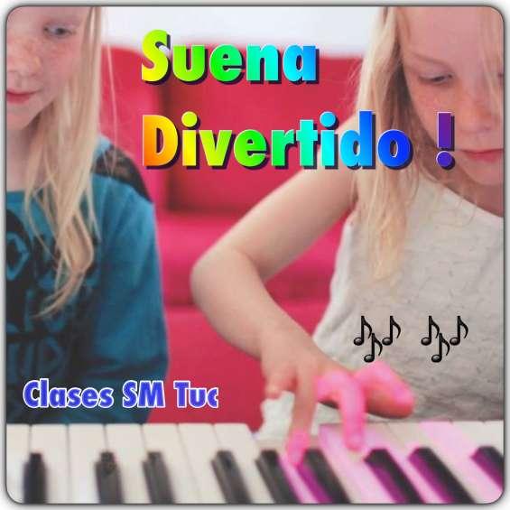 Clases de piano. suena divertido!