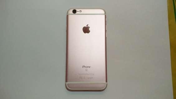 Iphone 6s rose gold 64gb impecable + 9 fundas, vidrio templado nuevo