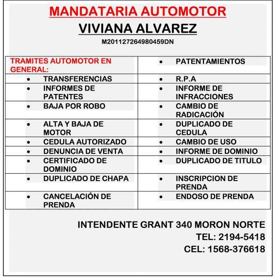 Mandataria automotor (alvarez viviana)