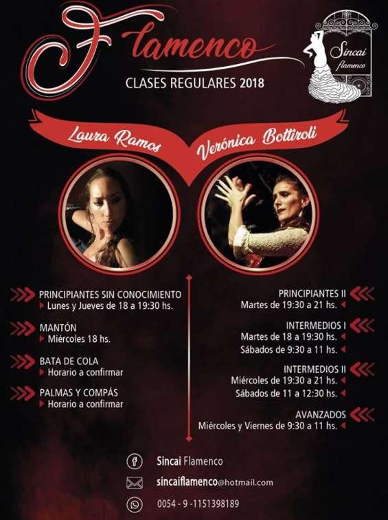 Baile flamenco en zona oeste!